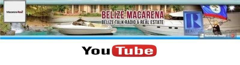YouTube Belize Macarena Banner